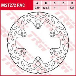 Disque de frein TRW MST272RAC