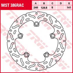 Disque de frein TRW MST386RAC