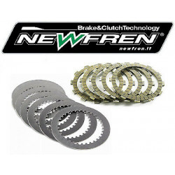 Kit disques garnis + lisses NEWFREN - Ducati