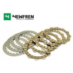Kit disques garnis + lisses NEWFREN OE Standard Kawasaki