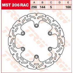 Disque de frein Fixe TRW / Lucas MST206RAC