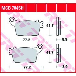 Plaquettes de frein Avant TRW MCB784