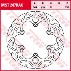 Disque de frein Fixe / Lucas MST247RAC
