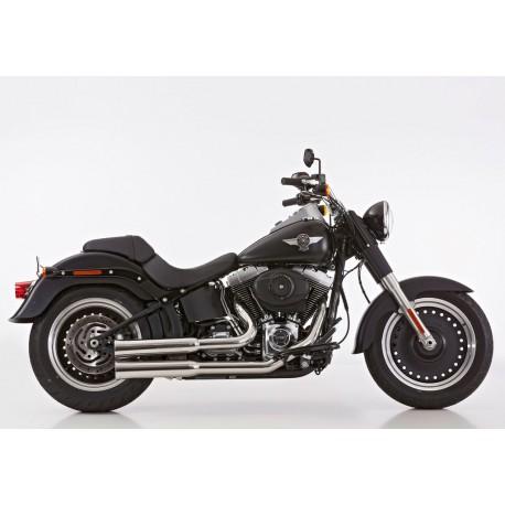 Ligne complète Falcon Double Groove gris - Harley-Davidson Softail....