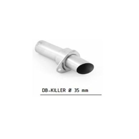 Db-killer racing 35 mm - Hpcorse Hydroform