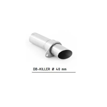Db-killer racing 40 mm - Hpcorse Hydroform