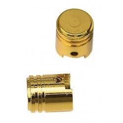 Bouchons de valve doré
