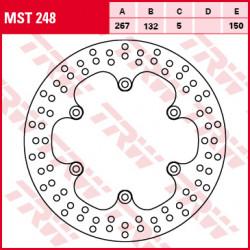 Disque de frein Fixe / Lucas MST248