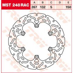 Bremsscheibe Starr TRW / Lucas MST248RAC