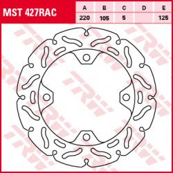 Bremsscheibe Starr Hinten TRW MST248RAC