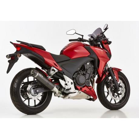 Echappement Shark Street GP carbon pour Honda CBR 500 R / CB 500 FA 13-15 // CB 500 XA 13-16 (PC44,PC45,PC46)