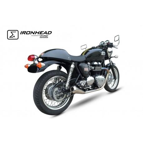 Exhaust Ironhead Conic - Triumph Thruxton 865 04-15