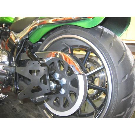 Chaft Seitenplattenhalter - Harley Davidson Softail Breakout / Rocket 13-17
