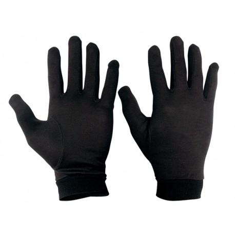 Sous gants en soie gr. S
