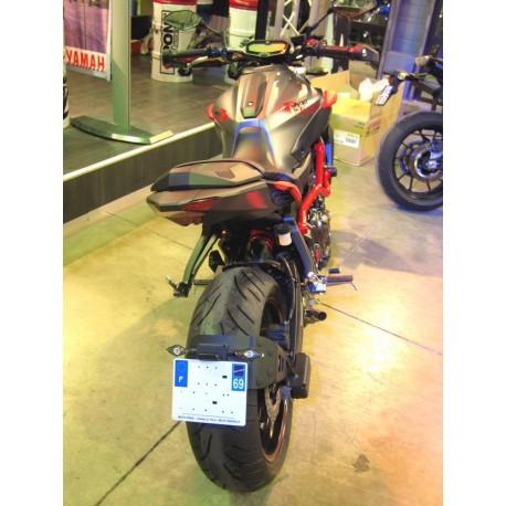 "Accessdesign\""Ras de roue\"" License plate holder -Yamaha MT07 14-18"