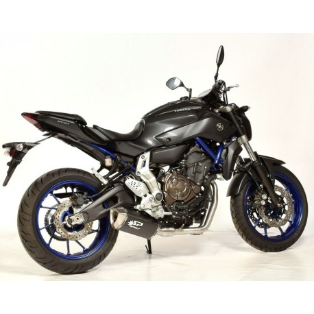 Auspuff Spark Force Dark Style - Yamaha MT-07