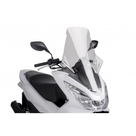 Windshield Puig V-Tech Line Touring transparent - Honda PCX 125 2014 /+