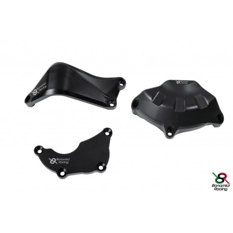 Cover Protections black Bonamici Racing Full kit - Yamaha YZF R6 06-16
