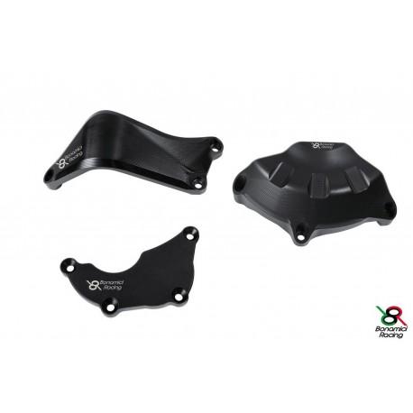 Motorschutz Bonamici Racing schwarz full kit - Yamaha YZF R6 06-16