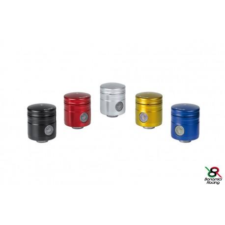 Réservoir d\'huile pour frein / embrayage 12 ml noir raccord 45° Bonamici Racing