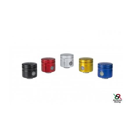 Brake / clutch oil tank 24 ml - 90° pipe black Bonamici Racing