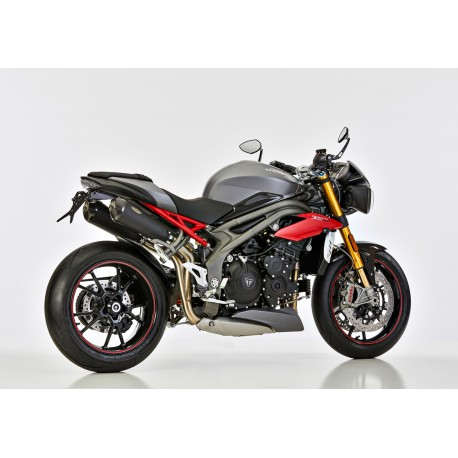 Echappement Shark DXS-7 noir - Triumph Speed Triple 1050 S / R 16-17