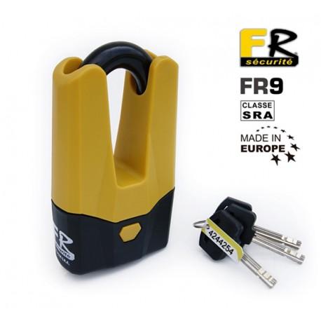Antivols bloque disque FR9 jaune