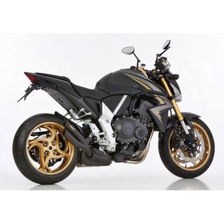 Echappement Hurric pro 2 noir - Honda CB 1000 R 08-17