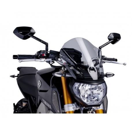 Puig Screen Racing smoke - Yamaha MT-09 14-16