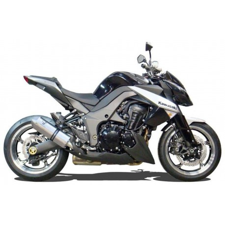 Auspuff Ixrace X-pure silver - Kawasaki Z1000 / SX 2010-16