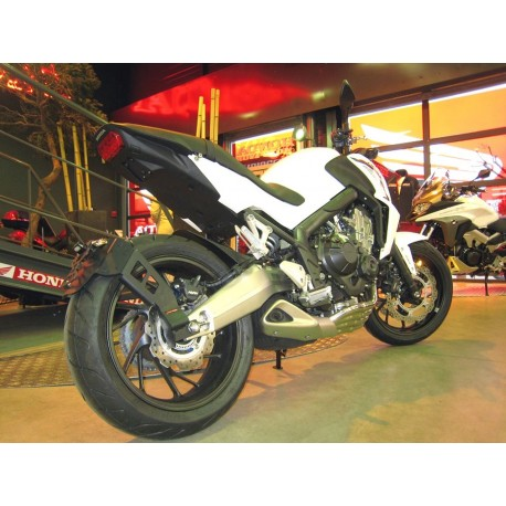 """Accedesign \""""Ras de roue\"""" Kennzeichenhalter - Honda CBR 650 F 14-18 / CB 650 F 14-18"""