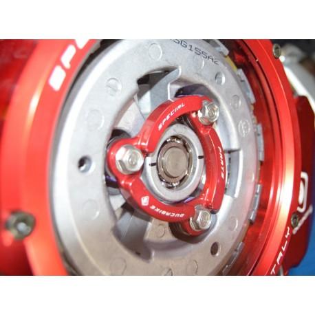 plaque de pression rouge Ducabike