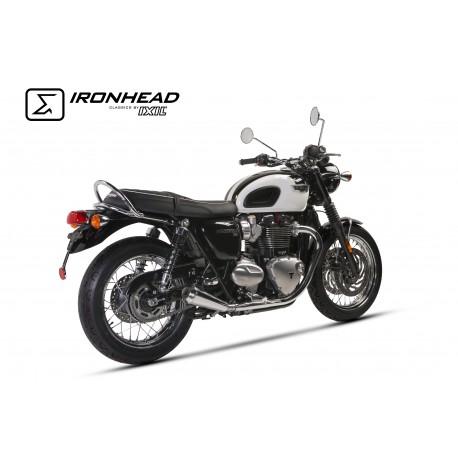 Echappement Ironhead Conic -Triumph Bonneville T120