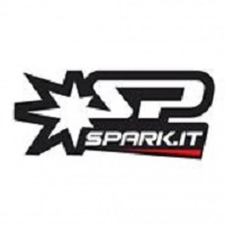 Exhaust Spark Oval titan - Ducati Multistrada 1200 10-14