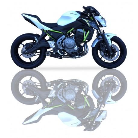 Komplettanlage Ixil SX1 carbon - Kawasaki Ninja 650 // Z650