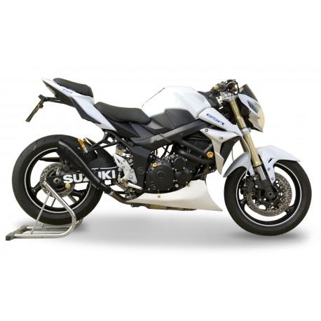 Exhaust Hpcorse Hydroform black - Suzuki GSR 750