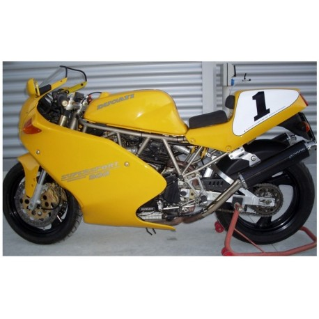 Exhaust Spark round Hight - Ducati 851 / 900 SS 91-97