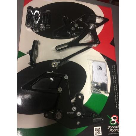 Fussrastenanlage Bonamici Racing - KTM Superduke 1290 R 13-16