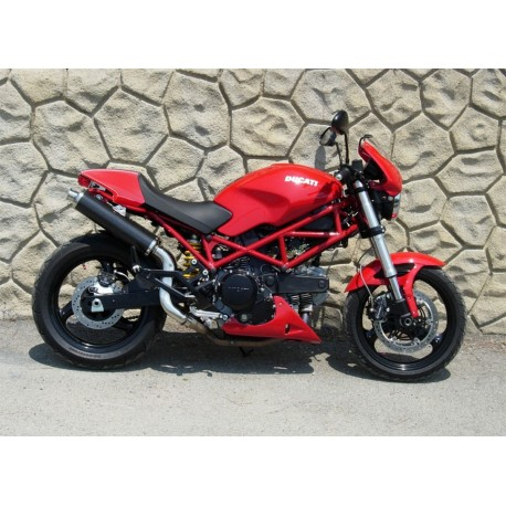 Exhaust Spark Round high mounting for Ducati Monster 620 / 695 / 750 / 800 / 900ie / 1000 / S4