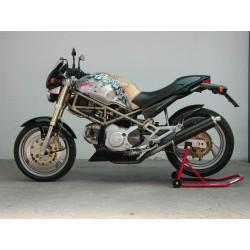Auspuff Spark Rund für Ducati Monster 620 / 695 / 750 / 800 / 900ie / 1000 / S4