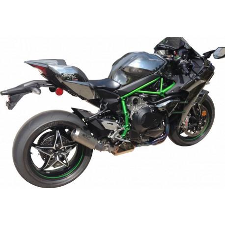 Echappement Spark MotoGP Full titane - Kawasaki H2 15-16