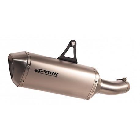 Exhaust Spark Force titanium - Kawasaki H2 15-16