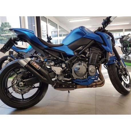 Echappement Ixil Dual Hyperlow noir - Kawasaki Z900
