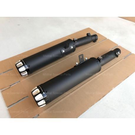 Exhaust Mistral exclusive noir - Moto-Guzzi Audace 1400