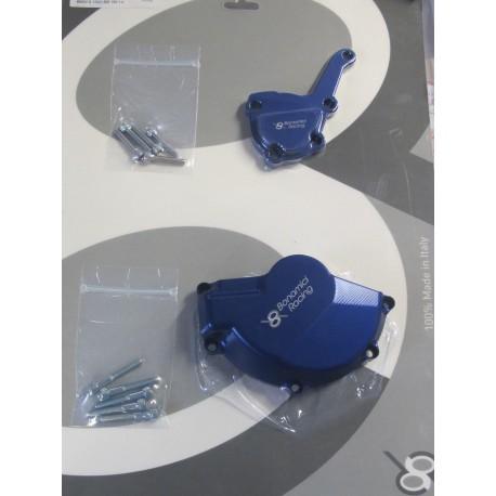 Engine covers blue Bonamici Racing - BMW S 1000 RR/HP4/S 1000 R 08-17
