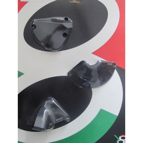 Cover Protections black Bonamici Racing Full kit - Yamaha R1 15-17
