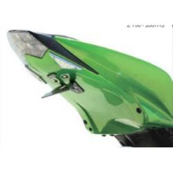 Passage de roue vert - Kawasaki Z750 07-12, Z1000 07-09