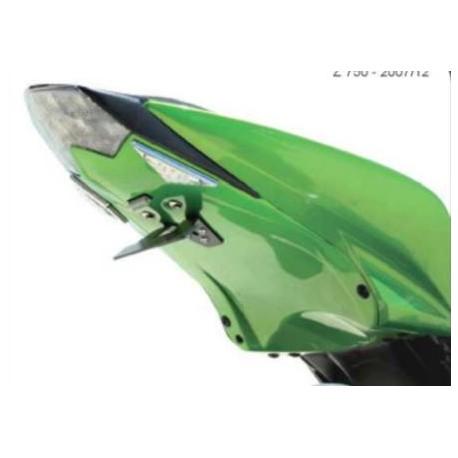 Wheel arch green - Kawasaki Z750 07-12, Z1000 07-09