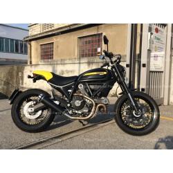Auspuff Mistral exclusive carbon - Ducati Scrambler 800
