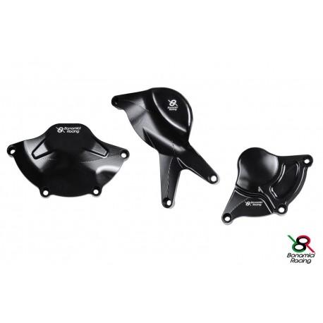 Protections moteur noir Bonamici Racing - Suzuki GSX-R 1000 17